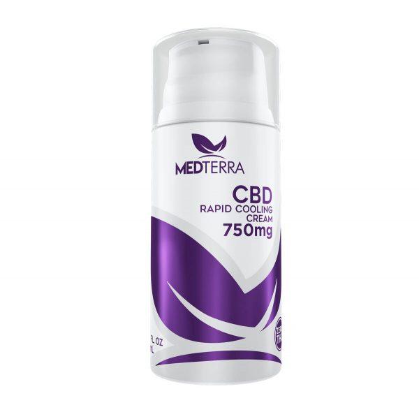 CBD Topical Cooling Cream 750mg
